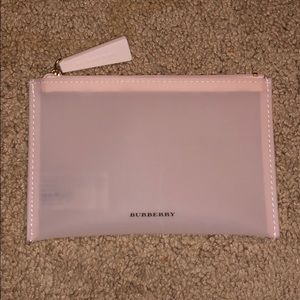AUTHENTIC Burberry makeup pouch in Sheer Nude Rose